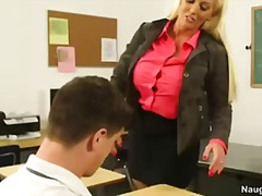 school, college, first, professor, students, busty, blonde, teacher, ass