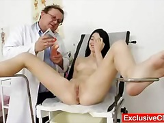 clinic, pussy, internal, cervix, enema, bizarre, medical