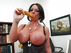 toys, milf, fake, tattoo, brunette, monster, work, pussy, kerry, twistys