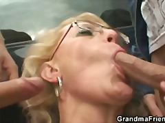 Grannies threesome tube8 accept. The
