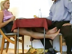 small, dick, foot, red, soles, polish, older