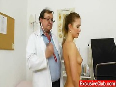 doctor, insertion, rubbing, wanking, bizarre, fetish, medical, squirt, clinic, crossdresser