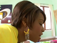 Black imani rose wants to stretch