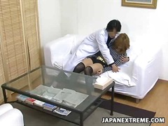 fingering, asian, oral, stockings, japanese, pussy, stocking,