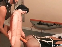 face, foot fetish, mistress, squirt, bondage, fetish, kinky, rubbing, bdsm, fishnet, medical, uniform, crossdresser