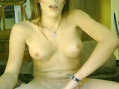 handjob, solo, cock, redhead, big ass, shemale, ejaculation, big, penis, masturbation, jerking, monstercock, webcam