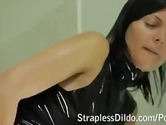 kinky, toy, flashing, sex toy, fantasy, pissing, face, rubbing, fishnet, tattoo