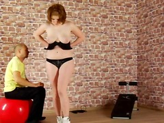 Submissive training for youg lady