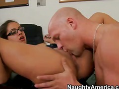 Bespectacled sexy student girl jynx maze