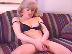 milf, mastrubasie, outyds, solo, blond, shemale