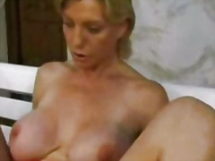 car, blonde, mature, german, anal, fisting