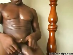 cock, masturbation, gay, selfsuck, big, ebony, solo