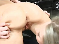 hardcore, shaved, threesome, time, brunette, pornstar, boobs, pale, piercing, toys, first, tattoo, lesbian, spank