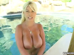 Bridgette B, big boobs, big ass, masturbation, outdoor, big cock, small tits, natural boobs
