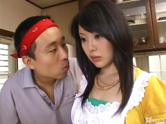 Naughty asian cock rodeo