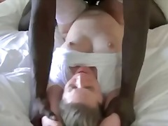 hardcore, blonde, black, cock, big, interracial