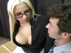 pornstar, big, big boobs, tits, mini, teacher, behind, work, office