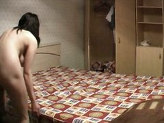 sleep, bedroom, hidden, candid, voyeur, spy, home, chubby, brunette