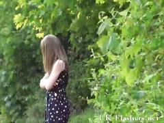 Teen public nudity and lauras amateur flashing