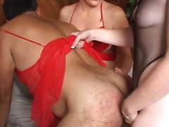 strapon, dominanz, frau frau mann, female domination