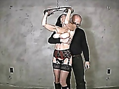 Ashley renee metal bondage