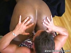 asslick, ass, interracial, fat, rimjob, lick