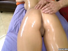 eva angelina,  oil, eva angelina, big boobs, massage