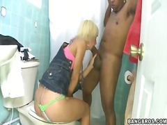 Lusty cock addicted young blonde whore