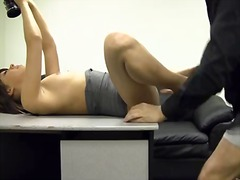 Casting, Teen, Couch