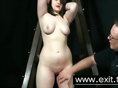 spanking, bdsm, bound, humiliation, subbed, flogging, punishment, whip, domination, tied, bondage, pain, slave