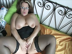 Plump and tasty milf