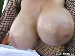 billy glide, big boobs, tits, outdoor