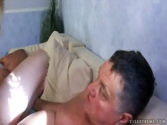 Blonde slut chary loves undulating her tight vag in nasty and wild hardcore
