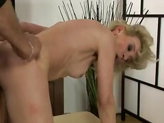 Gorgeous milf named margarette shows her hairy pussy and gets pleasure