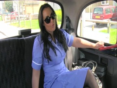 fake, babe, mature, real, jerking, nurse, uniform
