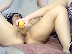throat, bedroom, wet, trio, girlfriend, crack, pleasure, brunette, bathroom, fucking