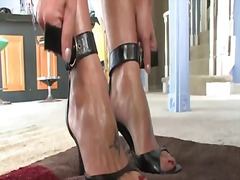 Brenda James, strap, femdom, brenda james, domination