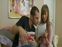 jeune fille, anal, russes, couple,