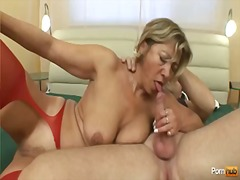 chubby, tits, granny, blonde, busty, shaved, mother, big boobs, old, mature