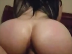 Breathtaking mexican arse rides it