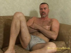 masturbation, bear, big, jerking