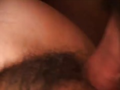 Hairy asian chick lucky starr is drilled in cunt