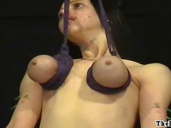 nasty, punishment, bdsm, piercing, emily, extreme, scene, domination, hang, pain, discipline, girls, tits, slave, movies