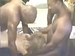 sexe de grup, belleses, ejaculació interna, bang, rosses, interracial, dona