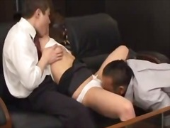 bdsm, office, asian, boss, domination