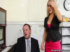 secretary, busty, blonde, ass, boss, office, ashlee, cock, fucking, amber