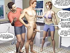 lustig, story, party, gay, swinger, zeichentrick, orgie, bisexuell, cartoon, erstes mal, gangbang, anime, mmf