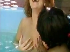 oral, wet, lezzy, nasty, white, beautiful, retro, sensual, pool, lesbos, pussy, dykes, vintage, lesbian, busty, black