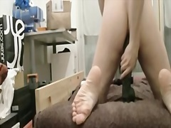Private Home Clips:dildo, vuis, boud, insteek