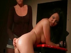 spanking, lesbian, lezdom, punishment, girls, scene, humiliation, slave, bdsm, mistress, pornstar